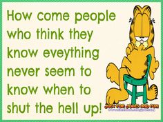 Garfield Pictures, Garfield Quotes, Garfield And Odie, Cartoon Characters, Fictional Characters, Mindfulness Quotes, E Cards, Minions, Comedy