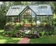 glass houses - Google Search Diy Greenhouse Plans, Best Greenhouse, Backyard Greenhouse, Greenhouse Wedding, Portable Greenhouse, Homemade Greenhouse, Greenhouse Heaters, Large Greenhouse, Winter Greenhouse