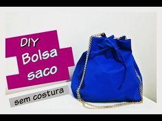 DIY Como Fazer Bucket Bag (Bolsa Saco)   Lillian Barboza - YouTube