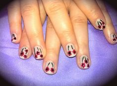 Miranda's poppin' poppies!