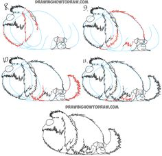 How to Draw Duke Sitting on Max from The Secret Life of Pets - Drawing Tutorial - How to Draw Step by Step Drawing Tutorials Drawing Lessons For Kids, Drawing Tips, How To Draw Steps, Learn To Draw, Drawing Course, Huge Dogs, Pet Steps, Cute Easy Drawings, Secret Life Of Pets