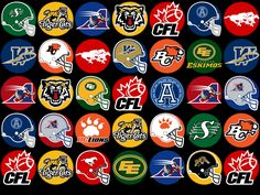 canadian football league emblem   main page mlb logos nba logos ncaa logos nfl logos nhl logos screen ... Hockey Logos, Nhl Logos, Football Team Logos, Football Helmets, Sports Logos, Sports Teams, Mlb, Ncaa, Canadian Football League