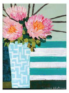 Stripes by Anna Blatman (Canvas)
