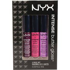 Nyx CosmeticsIntense Butter Gloss Set