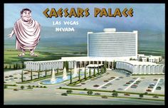 Caesars Palace all along on the Strip Las Vegas Nevada Casino Hotel, Las Vegas Hotels, Las Vegas Nevada, Old Postcards, Photo Postcards, Vegas Fun, Caesars Palace, Palace Hotel, Las Vegas Strip