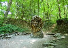 Awesome Green Man carved from Ash - would make an amazing cake!!