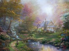 A Mother's Perfect Day | The Thomas Kinkade Company