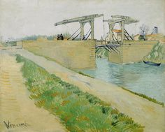 The Langlois Bridge, 1888, Vincent van Gogh, Van Gogh Museum, Amsterdam (Vincent van Gogh Foundation)