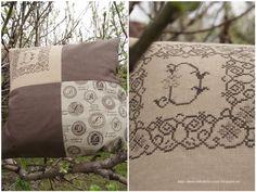 Мужская подушка с вышивкой / Фотофорум / Burdastyle
