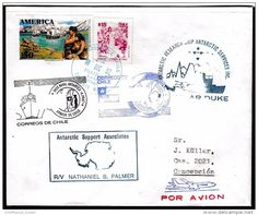 "ANTARCTIC, U.S.A., Expedition 1992,R/V""POLAR DUKE"", 4 Cachets Visit TTE""MARSH"" !! Look Scan II 1.3-87 - Spedizioni Antartiche"