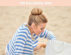 3 Hair Bun Tutorials | Brunch at Saks