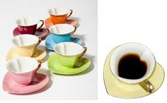 Daily Delight: Heart-Shaped Cups and Saucers | HGTV Design Blog ...