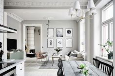 scandinavian-home decor style tips grey and white walls rustic neutral interior design White Interior Design, Home Interior, Interior Design Inspiration, Interior Decorating, Modern Interior, Interior Styling, Scandi Home, Scandinavian Home, Design Living Room