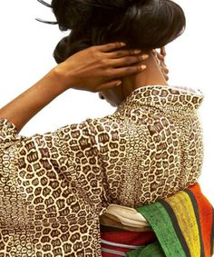 african kimono by serge mouangue