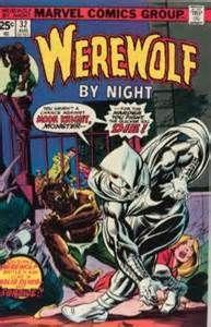 Werewolf by Night Appearance of Moon Knight Vol Marvel Comics VF- Marvel Comics, Old Comics, Horror Comics, Marvel Comic Books, Comic Book Characters, Comic Character, Comic Books Art, Comic Art, Marvel Heroes