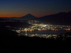 夜の富士山 77