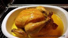 Pollastre farcit amb foie / Pollo relleno con foie