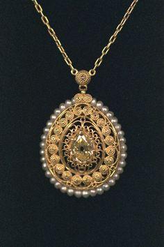 Tiffany & Co. Yellow Diamond Pendant  $25,000 Auction  –  $30,000 Auction