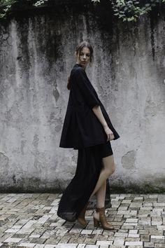 "Adriana Morandi ""hole"" ss16  Photo Thomas Carlá-Stylist Giulia Sanna- Model Sophie Pop- mua F Smeraldi-"