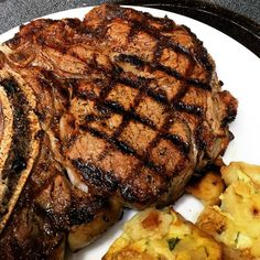 I'm a meat and frittata type of guy. #steak #ribeye #potato #frittatas #dinner #cooking