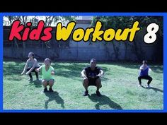 Kids workout another fun filled complete workout for kids, teens and adults. Pediatric Physical Therapy, Physical Education Games, Physical Activities, Preschool Learning Activities, Infant Activities, Kids Learning, Yoga For Kids, Exercise For Kids, Kids Workout