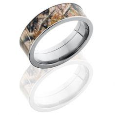 Love it! Flat Profile Realtree Camo Ring