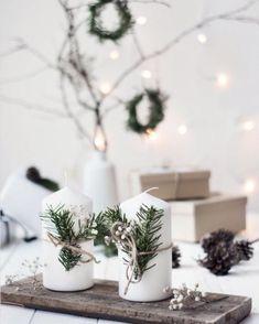 Minimal Christmas, Christmas Mood, Noel Christmas, Christmas Crafts For Kids, Elegant Christmas, Christmas Candles, Modern Christmas, Christmas Gifts, Christmas 2019