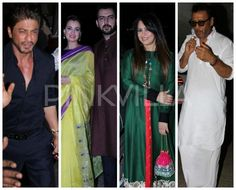 In Pics: SRK, Dia Mirza, Jackie Shroff & others celebrate Pre-Diwali in style!