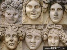 Aydın - Aphrodisias-Afrodisyas (Aphrodisias) Müzesi.AYDIN GERVE TÜRKİYE