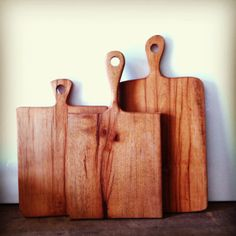 Reclaimed natural edge Wood Handle french by triple7recycled, $32.00 cutting board cheese board serving tray