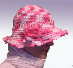 synthetic yarn pink winter hat made by Hatmilia www.etsy.com/shop/hatmilia Hat Making, Winter Hats, Beanie, Trending Outfits, Unique Jewelry, Handmade Gifts, Pink, Etsy, Clothes