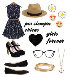 """""""girls forever"""" by veronica-veronica-1 ❤ liked on Polyvore"""