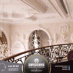 Başınızın üzerinde yükselen bir saray ihtişamı hayal edin. #astas #alcidekorasyon #astasalci #kartonpiyer #plaster #plasterwork #luxury #architecture #interior #design #elegant