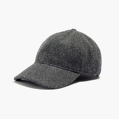 A timeless tomboy baseball cap remade in a blend of cozy-weather wool. Throw 13afe305020e