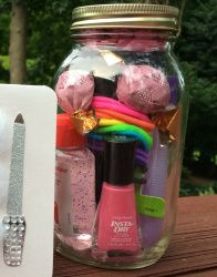 Spa in a Jar - an easy fun teen gift :: The Creative Homeschool Mom