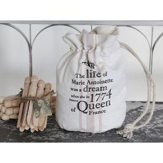 woreczek biały z napisami  #white #bag #pouch #inscriptions #vintage