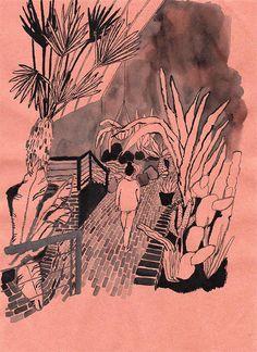 Pia Bramley, Walking away in Illustration