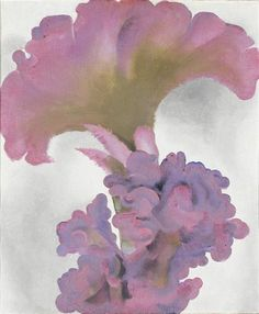 Coxcomb, 1931 by Georgia O'Keeffe. Precisionism. abstract