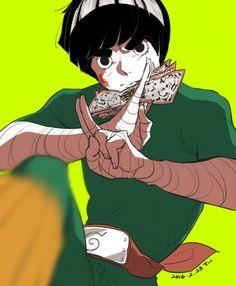 rock lee art,so cool. Naruto Uzumaki, Itachi, Anime Naruto, Naruto Boys, Naruto Gaiden, Shikamaru, Naruto Art, Gaara, Hinata