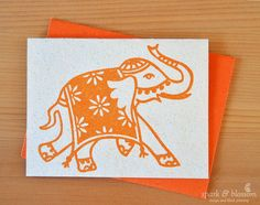 The 10 best sri lanka images on pinterest destinations beautiful a blank greeting card with co ordinating envelope hand block printed with low m4hsunfo