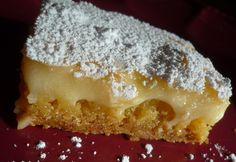Paula Deen's Ooey Gooey Butter Cake - i think i gained 10 lbs just looking at it!!!
