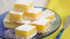 Carrés au citron au thermomix. Découvrez la recette des Carrés au citron, simple et facile à préparer chez vous à l'aide de votre thermomix.