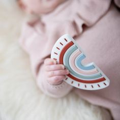 Rainbow Teether Teething Relief, Baby Must Haves, Baby Registry, Baby Love, Gifts For Kids, Little Ones, Online Boutiques, Baby Kids, Shops