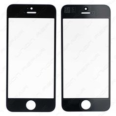 Replacement for iPhone Front Glass Lens - Black Specifications: Size: inches Material: Corning Gorilla Glass Color: Black Compatibility: Apple iPhone Features: This i. Iphone 5s, Apple Iphone, Colored Glass, Color Black, Lens