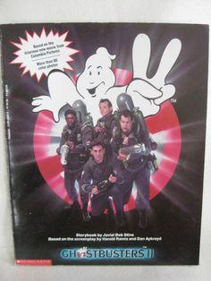 Vintage 1989 Ghostbusters II Book by VintageByThePound on Etsy