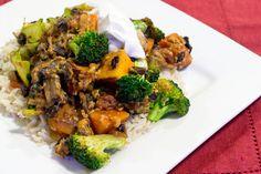 Black Bean & Butternut Squash Mexican Rice Bowl