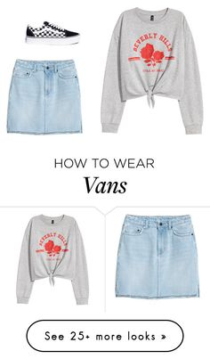 """Untitled #1783"" by mkk-18 on Polyvore featuring H&M and Vans"