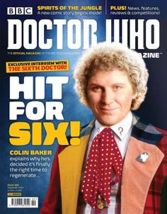 Doctor Who Magazine 489 - July 23, 2015, issue features an interview with sixth Doctor Colin Baker, the Doctor who never had a proper regeneration story - until now. Talking about recording The Last Adventure for Big Finish, he said...