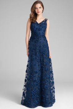 Find the perfect Teri Jon cocktail dresses and evening gowns for the mother of the bride. Try our lace dresses, tea length dresses, dresses with sleeves, and other styles to feel like the young and beautiful mother of the bride that you are. Evening Gowns With Sleeves, Plus Size Evening Gown, Dresses With Sleeves, Mob Dresses, Tea Length Dresses, Tulle Gown, Lace Dress, Floral Evening Gown, Fitness Video