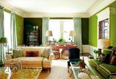 Layered greens, Tory Burch home